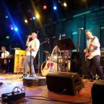 Aaron Freeman band at World Cafe Live, April 2012